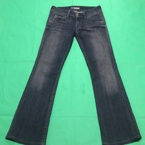 Authentic Hudson Jeans Triangle Pocket Bootcut 28